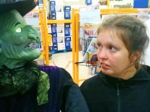 Gaby et sorcière